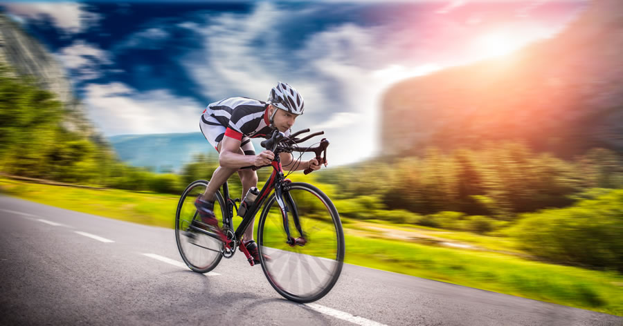 Caffeine improve cycling sprint performance